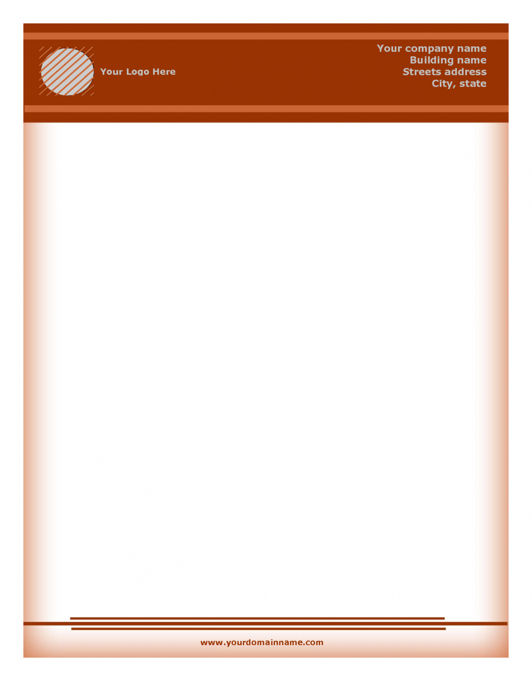 Fresh Letterhead Sample Free Download For You LetterBuis