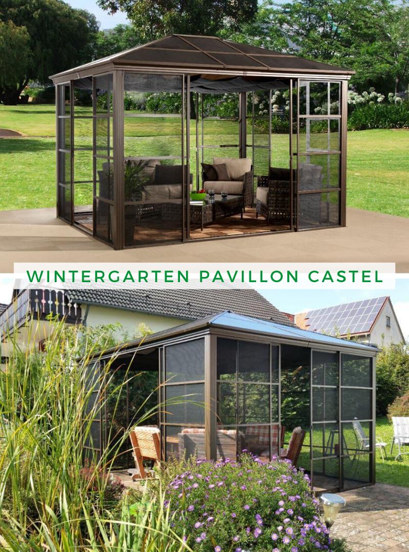 Wintergarten Pavillon Castel Wintergarten, Pavillon und