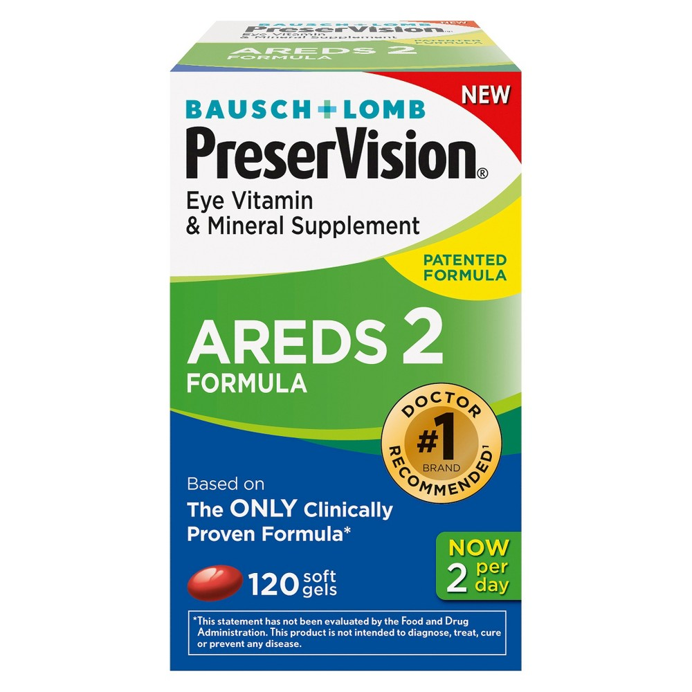 Preservision Areds 2 Eye Vitamin And Mineral Softgels border=