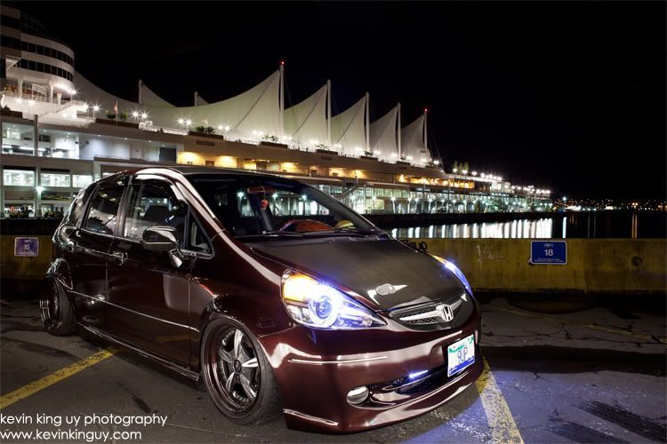 *9UP* Air'd Out Honda Fit GD3 Honda fit, Honda, Air ride