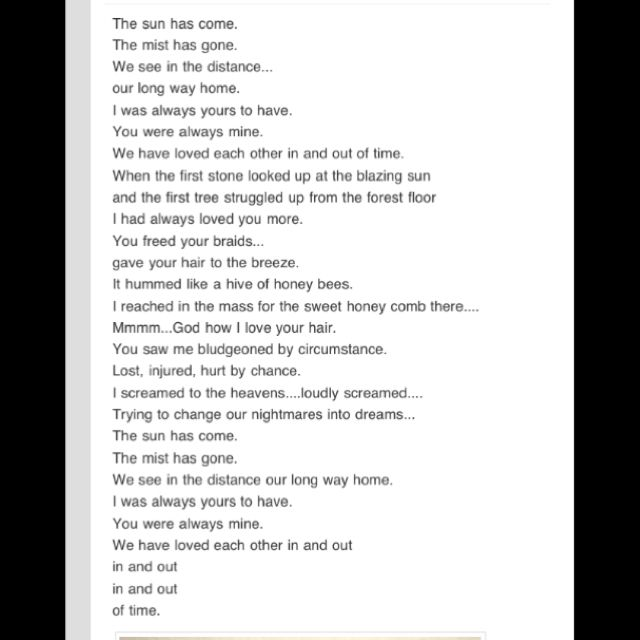 In Out Of Time By Maya Angelou I Want Someone To Read This As Walk Down The Isle On My Wedding Day