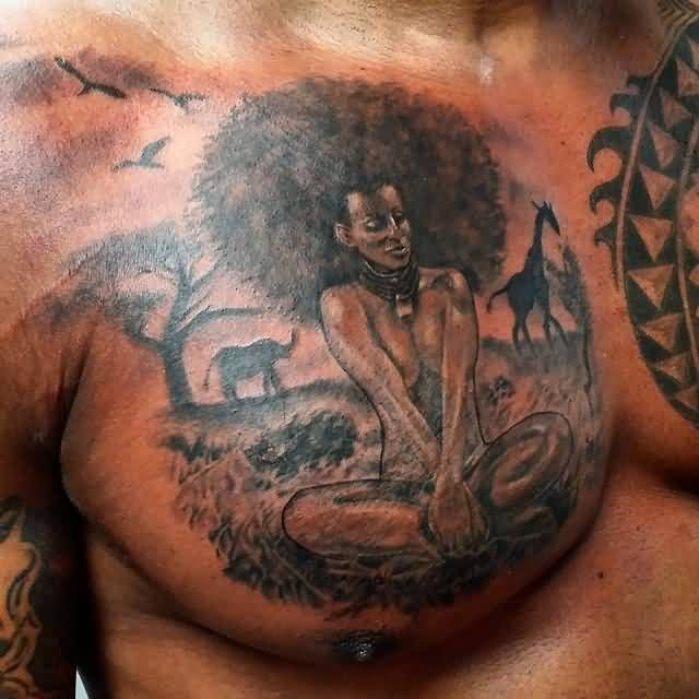 African American Tattoos For Women African Tattoos With Photos And