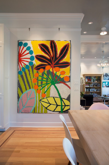 Gallery System Art Hanging System As Seen On Houzz Photography By Margot Hartford Photography Wall Painting Painting Kitchen Art