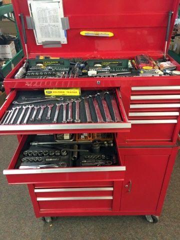 Lot 103 Mechanics Dream Tool Box Full Of Quality
