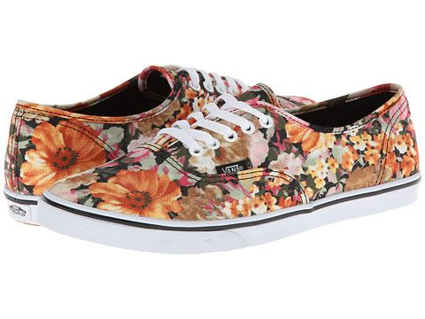 vans authentic lo pro floral