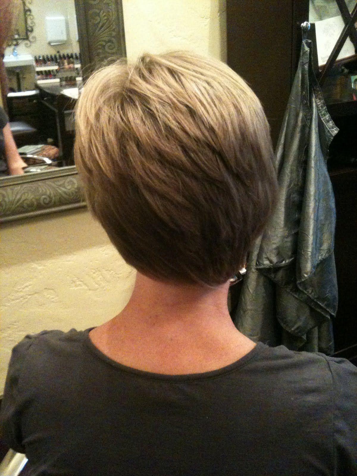 Roxyhair Asymmetrical Hair Cut Back View H A I R Pinterest