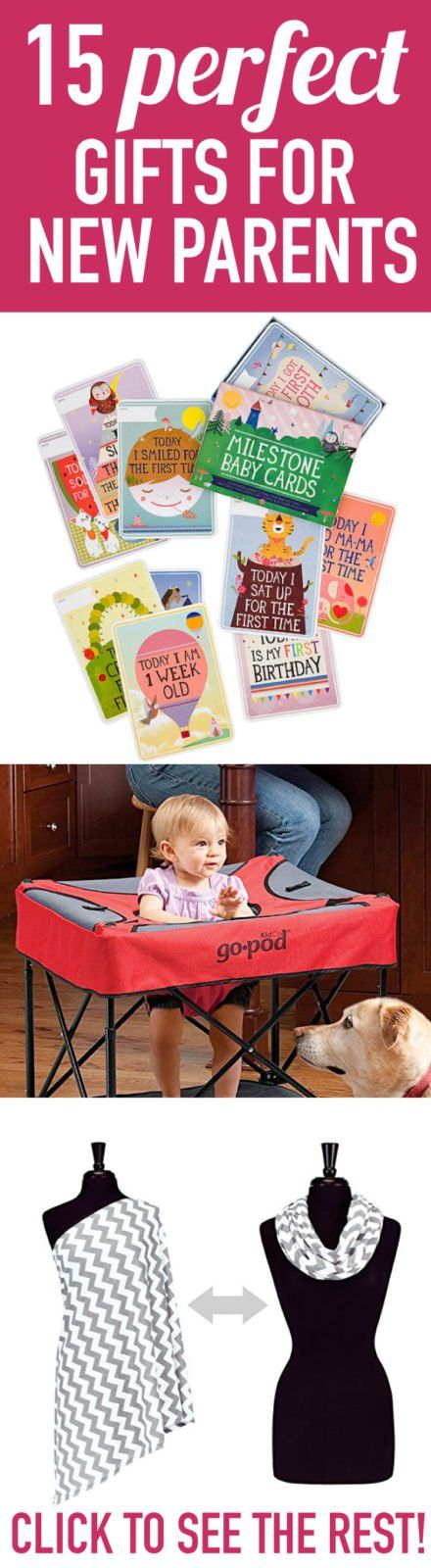 Sweet & Practical Gifts for New Parents | Designertrapped.com