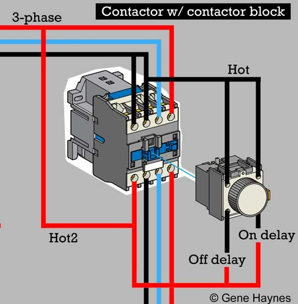 Contactor Block