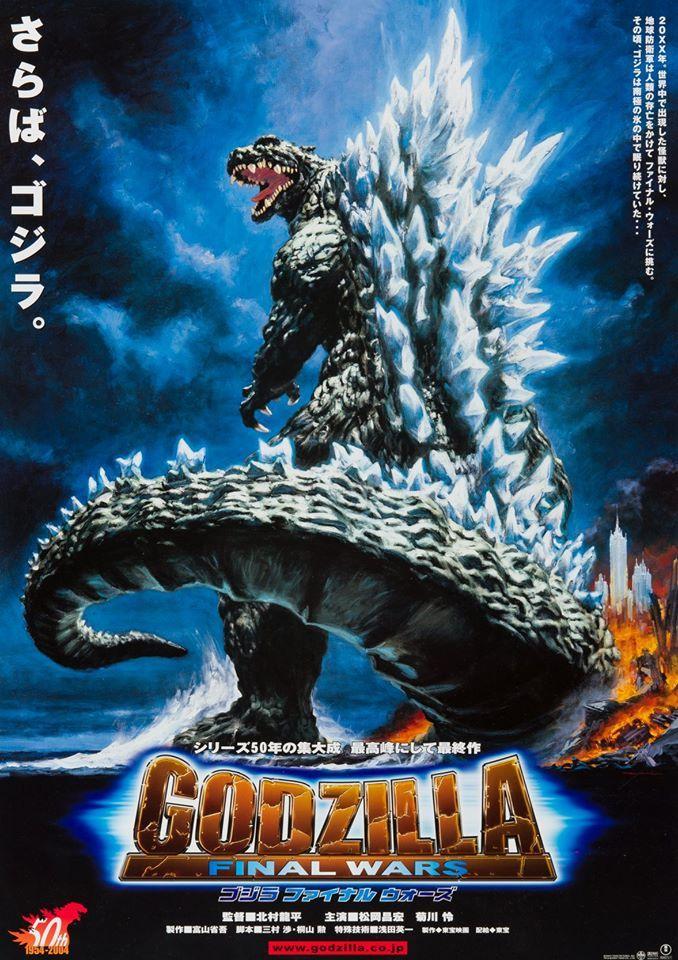 Noriyoshi Ohrai Godzilla Final Wars Godzilla vs