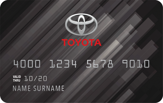 Toyota credit card is issued by Comenity Bank. Toyota