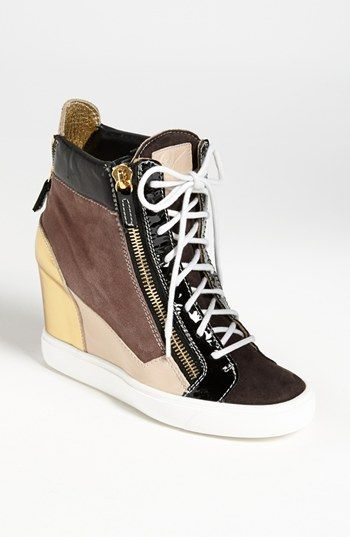 e86874f2bf07 The best wedge sneaker I ve seen. Giuseppe Zanotti Wedge Sneaker available  at  Nordstrom