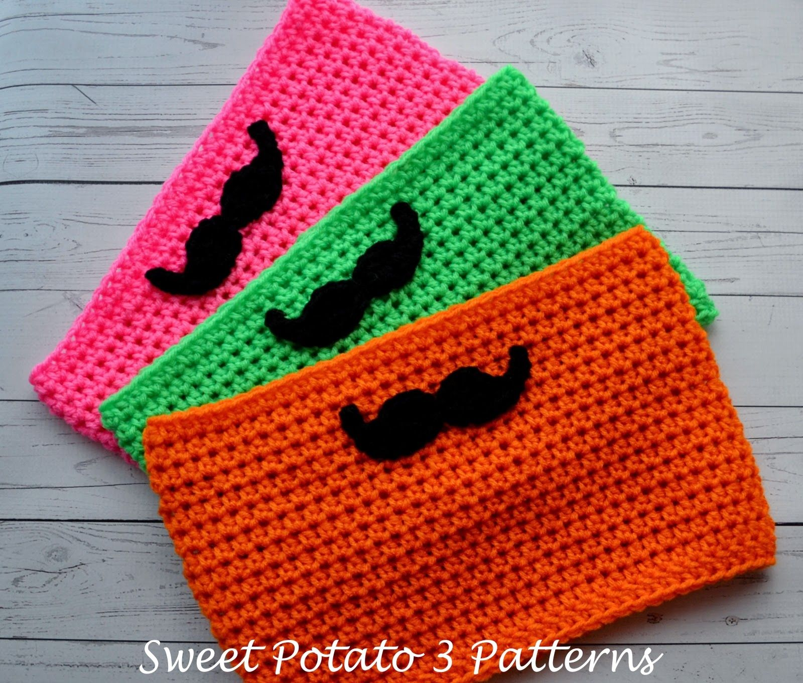 My Sweet Potato 3: Free Mustache Cowl Crochet Pattern | Projects ...