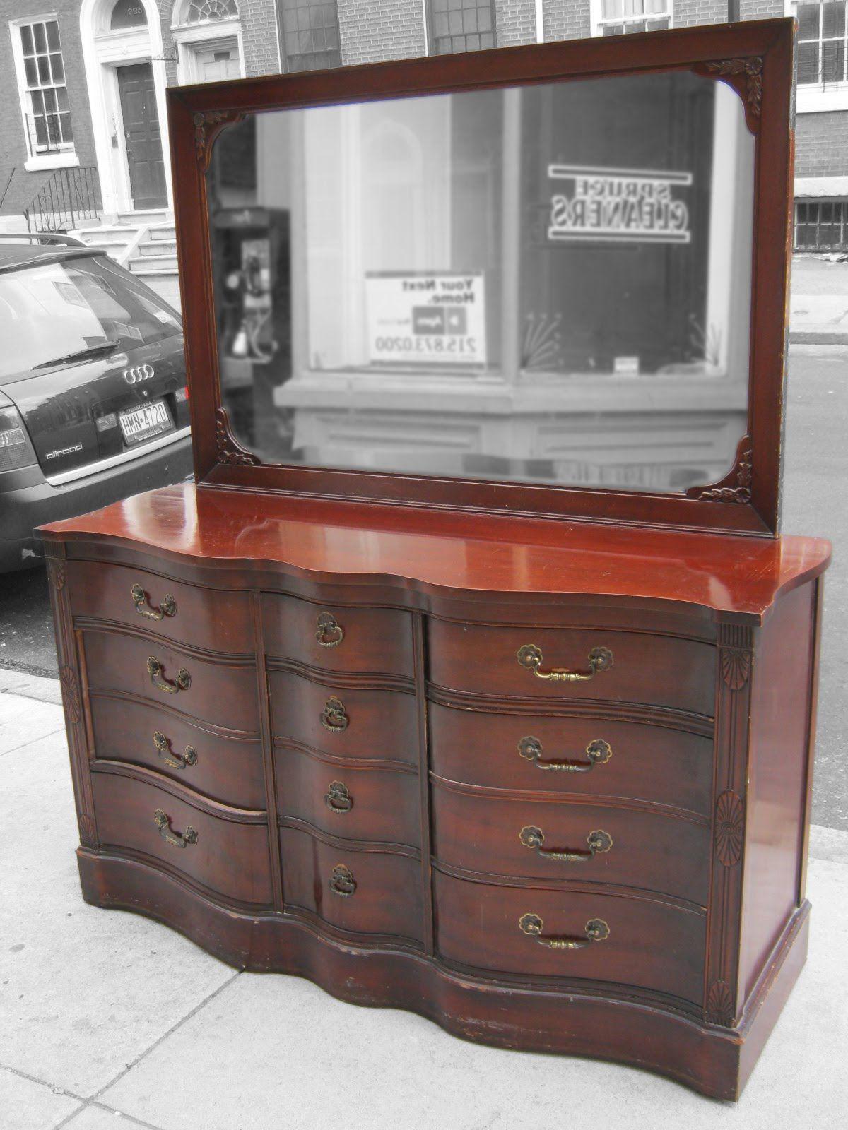 1940s furniture 1940 s Mahogany Bedroom Set SOLD