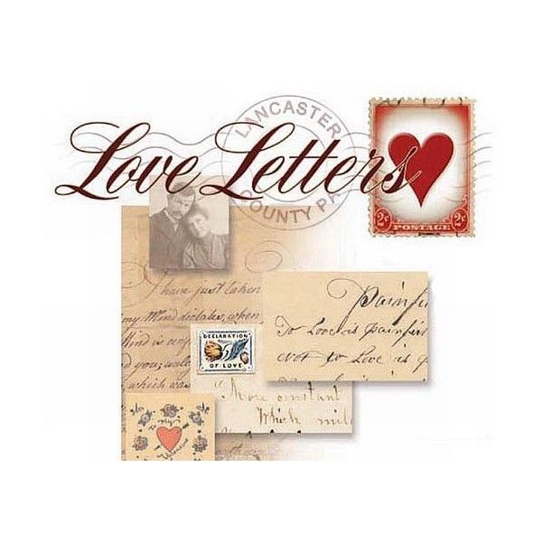 Best Love Letters For You  Liked On Polyvore Featuring