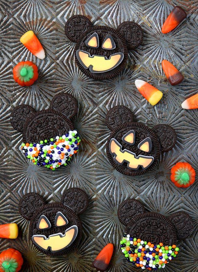 65 Scarily Simple NoBake Halloween Treat Recipes Mickey