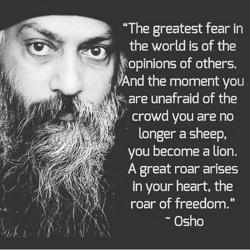 Freedom. (With images) | Osho quotes on life, Osho quotes ...