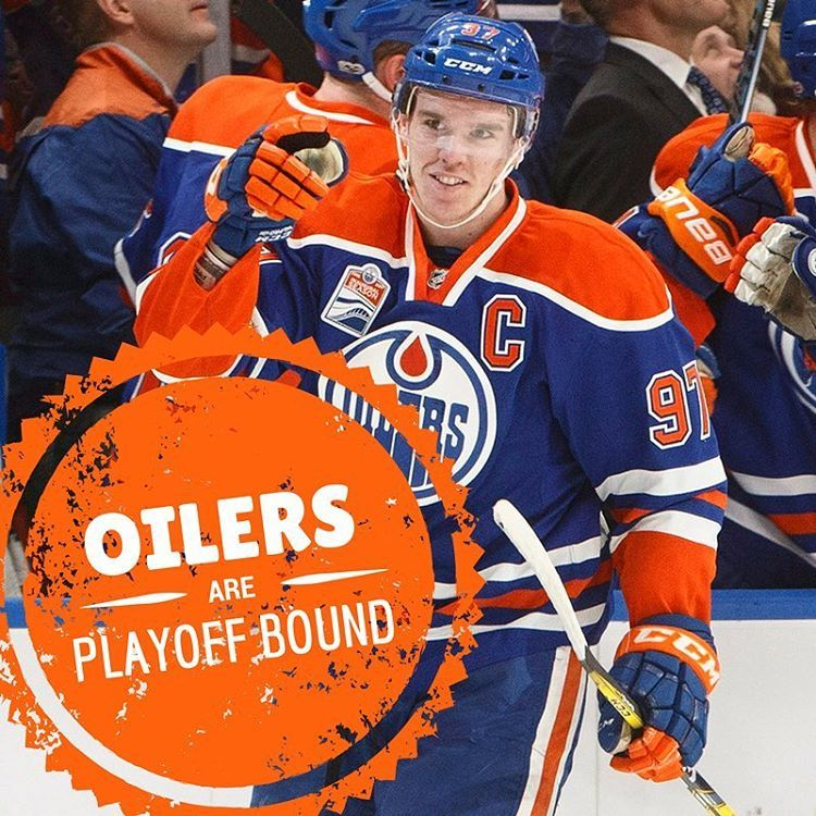 Oilers edge Kings to clinch 1st playoff berth since 2006