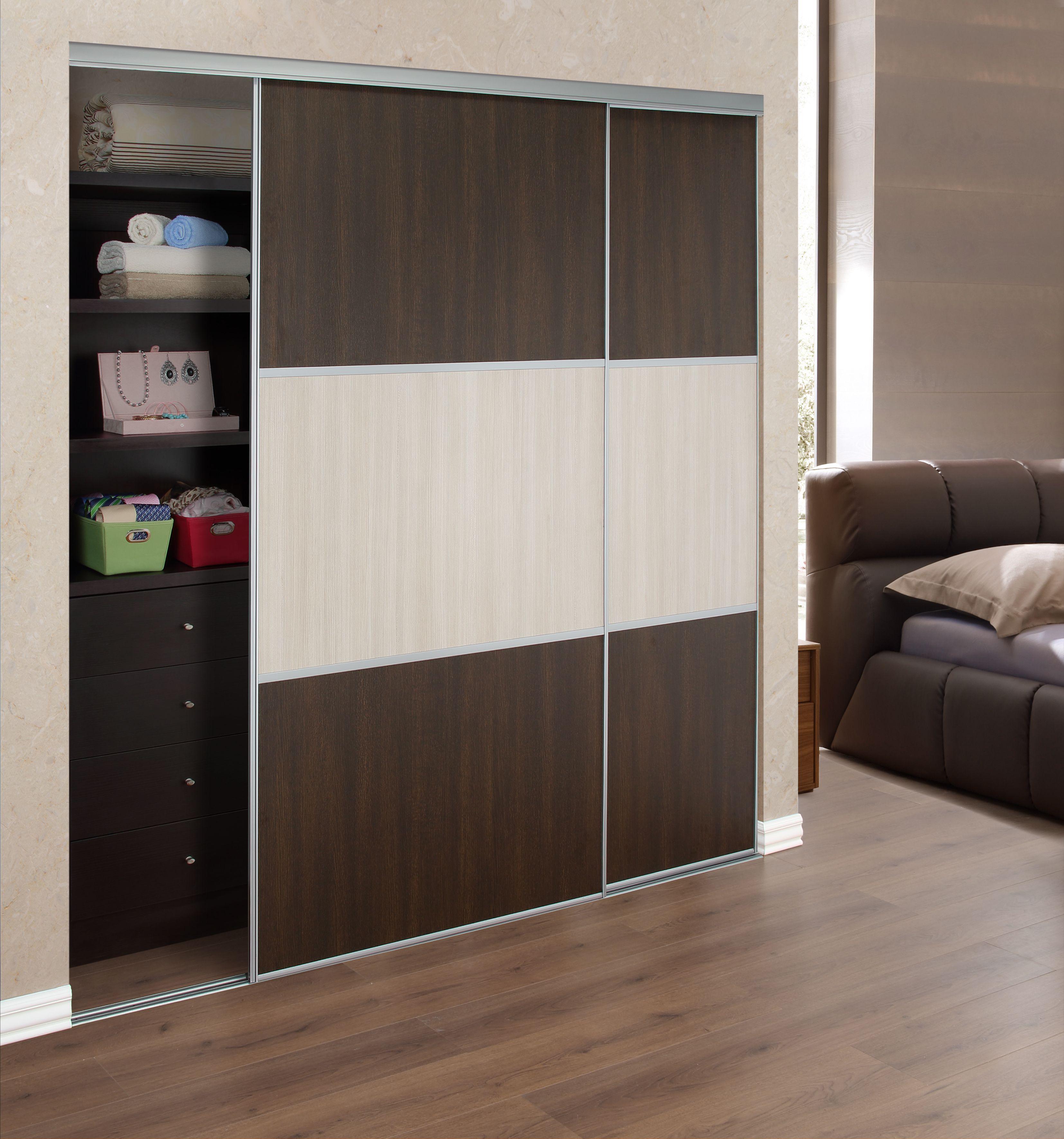 Mejora la decoraci n de la habitaci n con unas modernas puertas corredizas en tu cl set Puertas de madera decoradas
