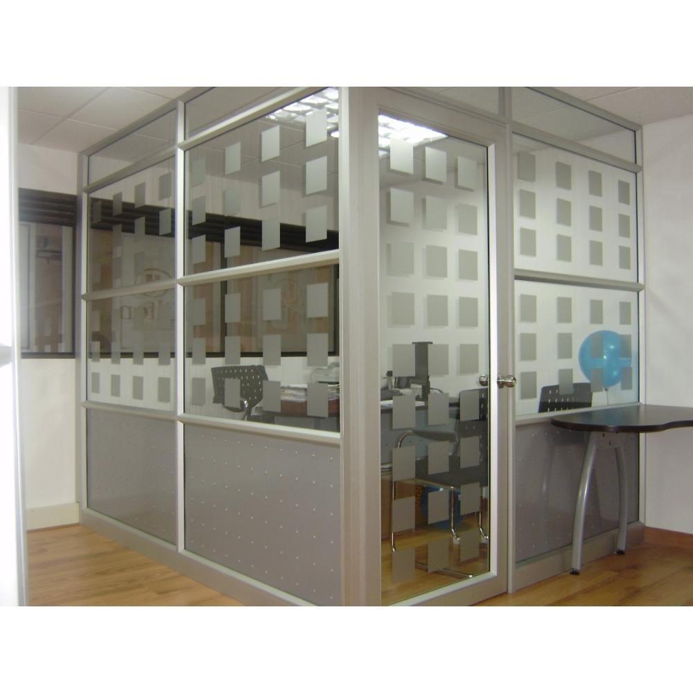 Divisiones para oficinas mobiliario pinterest for Muebles de oficina vidrio