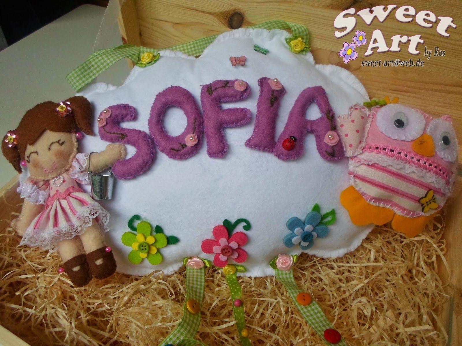 Sweet Art by Ros: Per SofiaNuvoletta creata per rallegrare la camere...