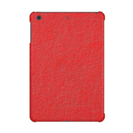 red texture iPad mini case
