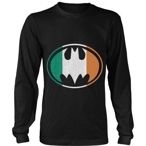 c822c5477 Batman Irish T-shirt | Clothes | Batman t shirt, T shirt, Shirts