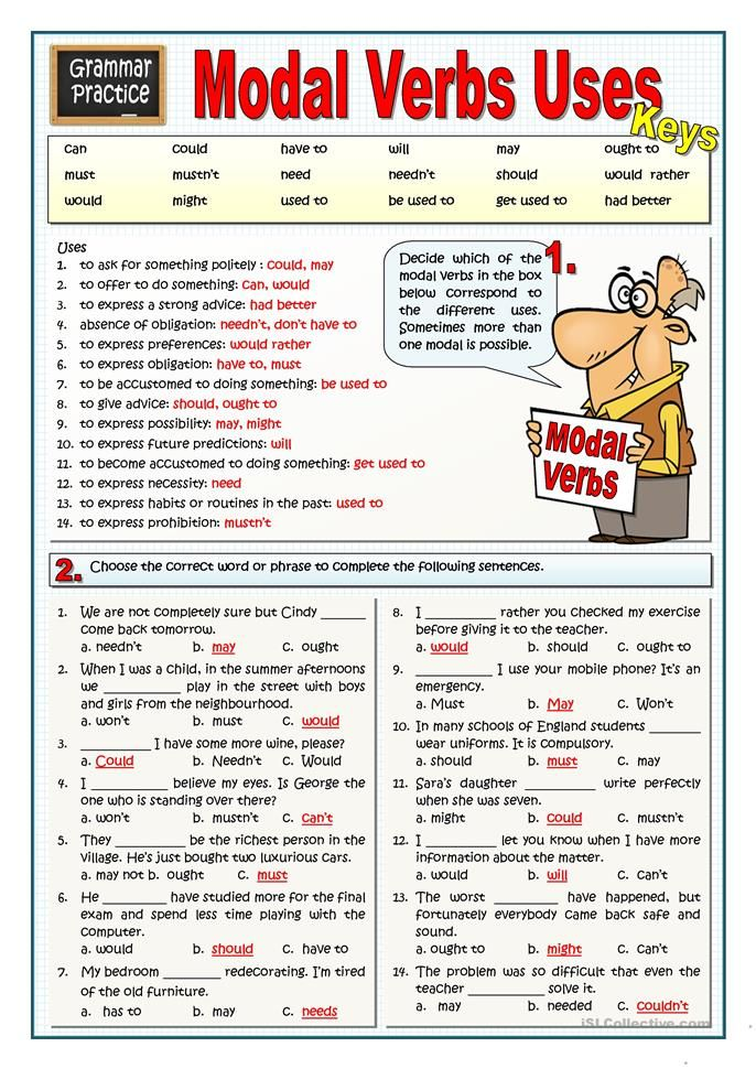 MODAL VERBS USES   Grammar   Pinterest   English, English grammar ...