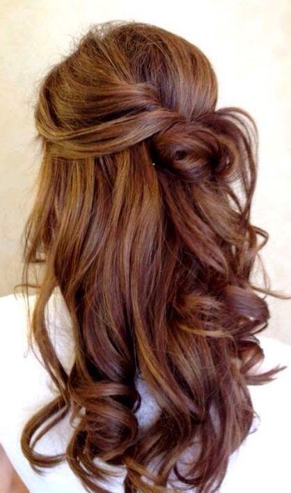 Haarfarben haselnussbraun