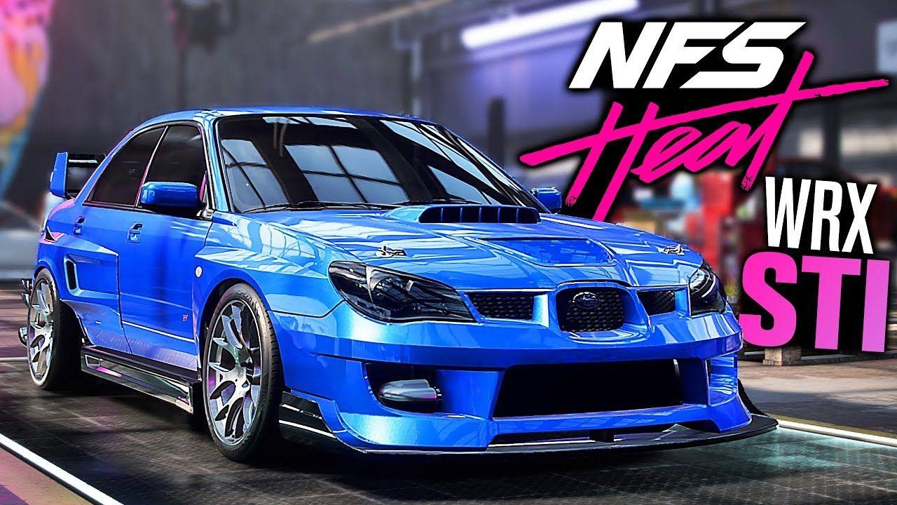 Need For Speed Heat Gameplay Subaru Impreza Wrx Sti Customization Ha Subaru Impreza Impreza Wrx