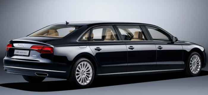 Audi A8 L Extended rear side - six doors limo #Audi #AudiA8 ...