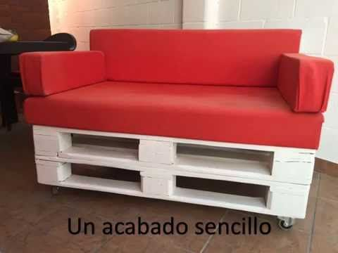 Como Hacer Los Cojines Del Sofa.Como Hacer Un Sofa Con Palets Paso A Paso Empoderadas Latam Diy