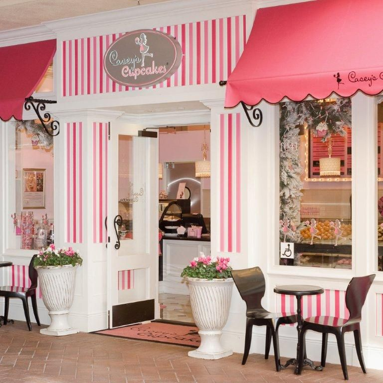 Casey 39 s cupcakes fashion island newport beach california for Bakery shop decoration ideas