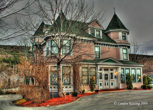 Waterford Manor Inn St Johns Newfoundland Canada And Labrador Atlantic