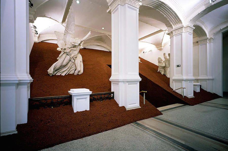 Domestication Of Pyramids By Magdalena Jetelova Artistic Installation Pyramids Installation Art