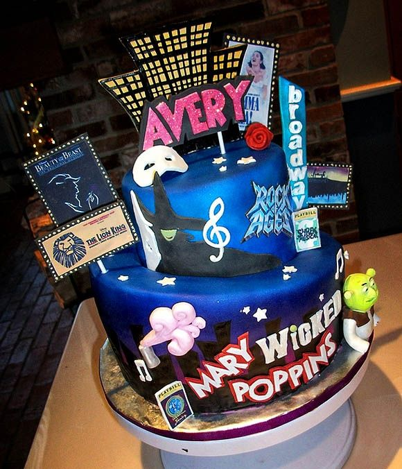 Musicals Cake Favorite-cakes