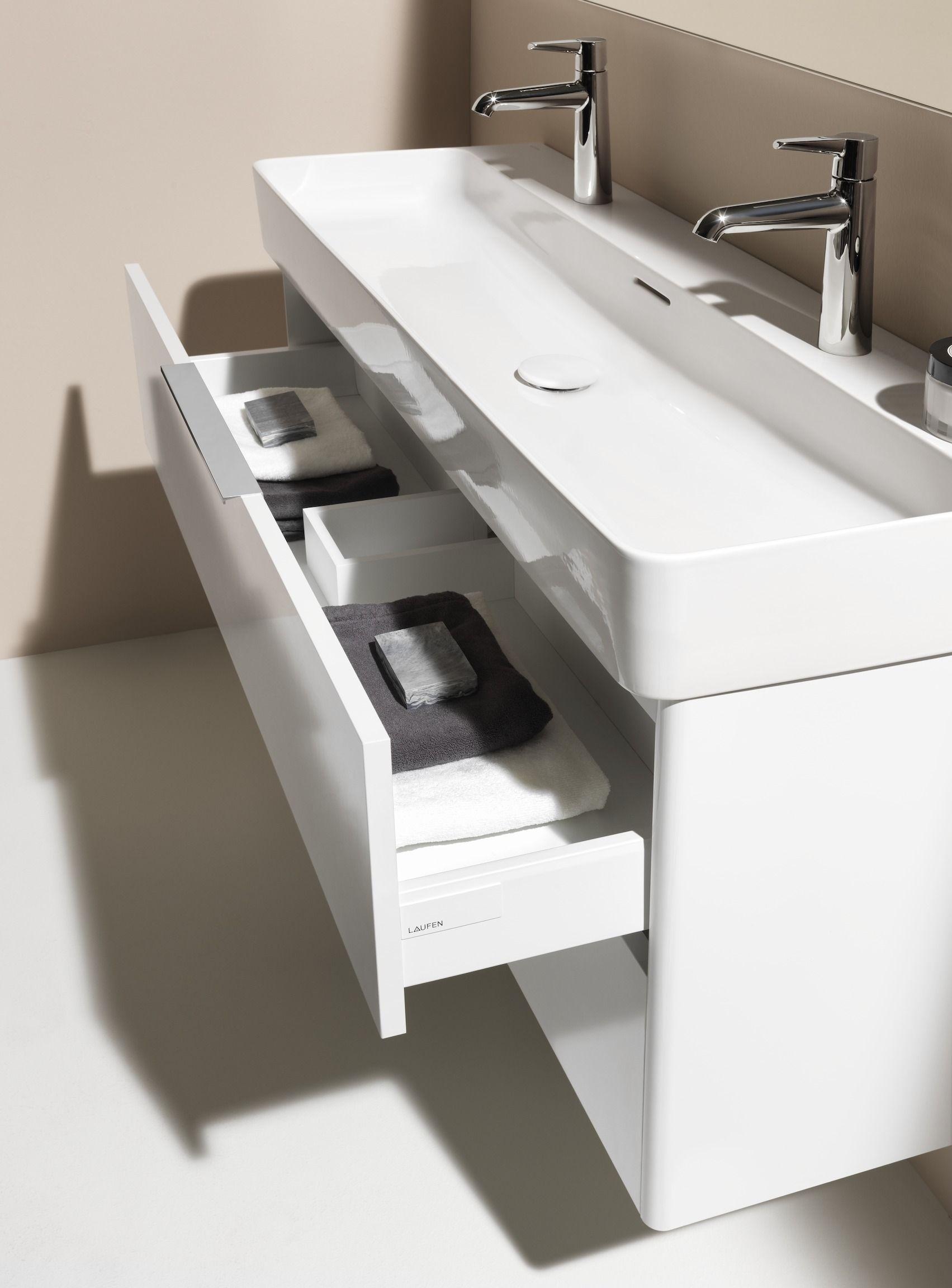 Laufen Base F R Val Waschtischunterschrank 2 Schubladen F R