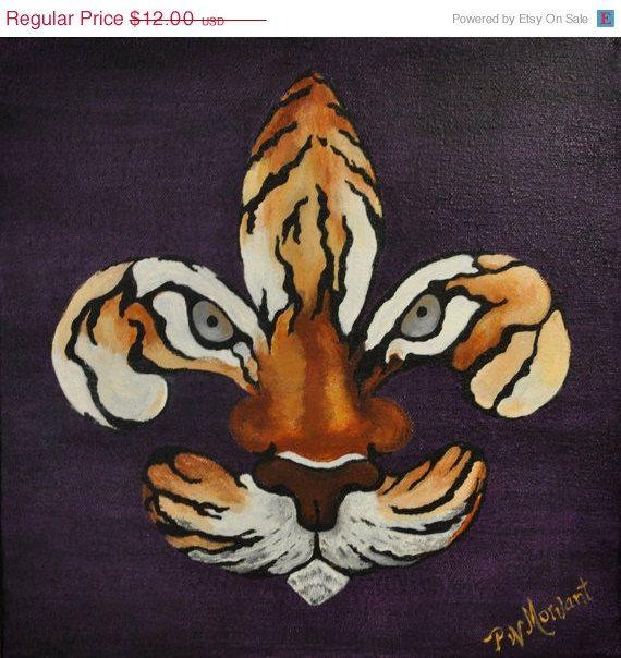 Fleur De Tigre Geaux Lsu Tigers Lsu Pinterest
