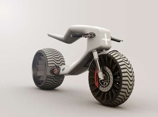 Minimalist E Bike Concepts Veicoli Futuristici Moto Concept E