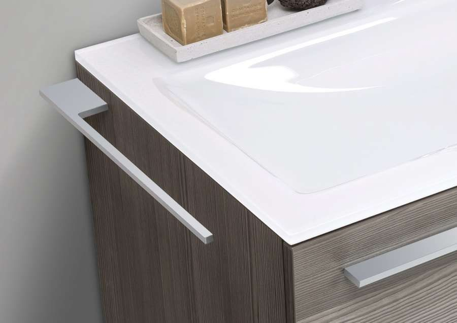 Badmobel Set Cubo 120 Cm Doppelwaschtisch Mit Unterschrank Und Led Spiegelschrank Doppelwaschtisch Mit Unterschrank Unterschrank Hochschrank