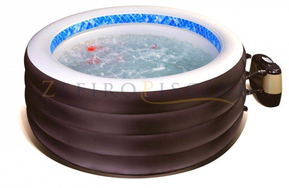 Piscina Idromassaggio Spa Gonfiabile Riscaldata Jilong Spa Tub