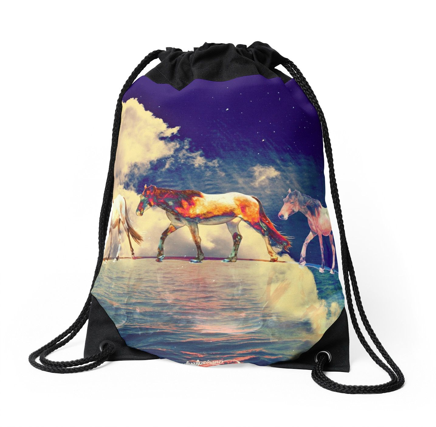 Cavalli lunari by Bizzartino