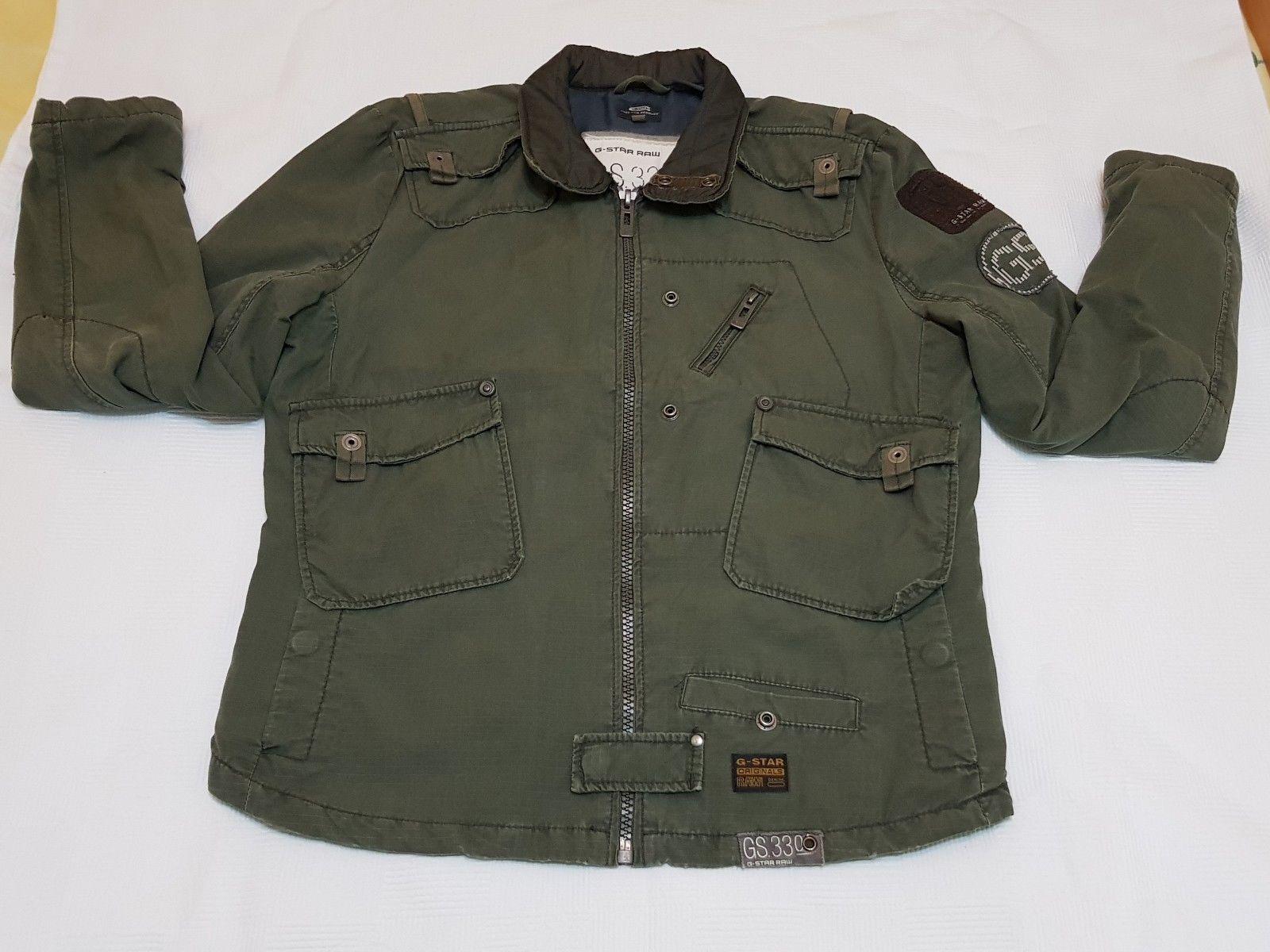 G Star Raw Men Jacket Gr L Transition Jacket Blan Overloaded Jkt Ebay G Star Raw G Star Jackets