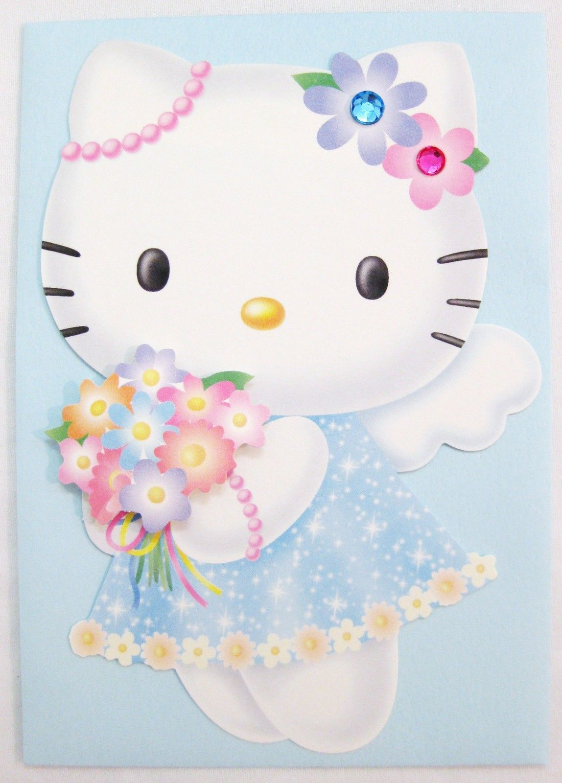 New Hello Kitty Key Chain Modelling Of The Angel The Bell Key Chain
