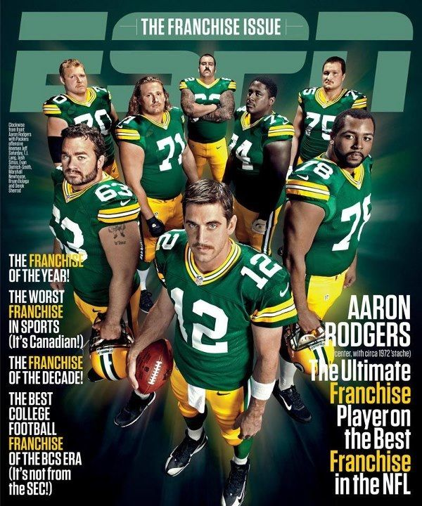 Espn The Magazine Cover Green Bay Green Bay Packers Fans Green Bay Packers