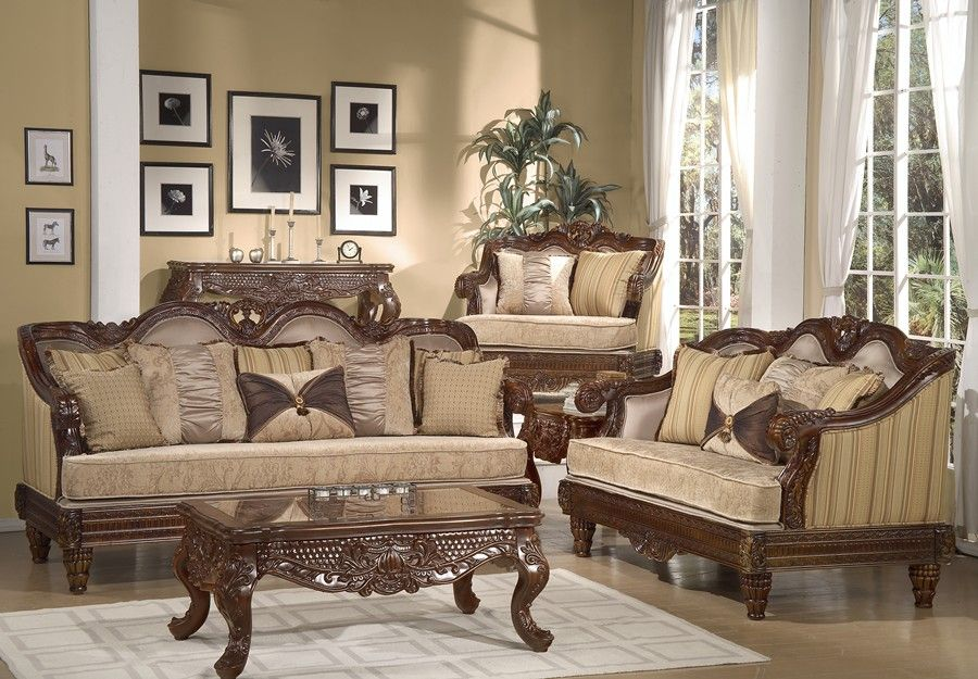 Best Luxury Sofas And Formal Luxury Set Traditional Living Room Furniture  Hd Cherry 288