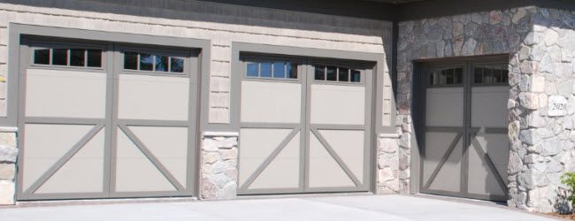 Courtyard Collection Garage Doors By Overhead Door Garage Door Styles Garage Doors Garage Door Types