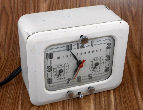 Vintage Westinghouse Stove Clock Timer Tc81 By Blueridgebirdhouses