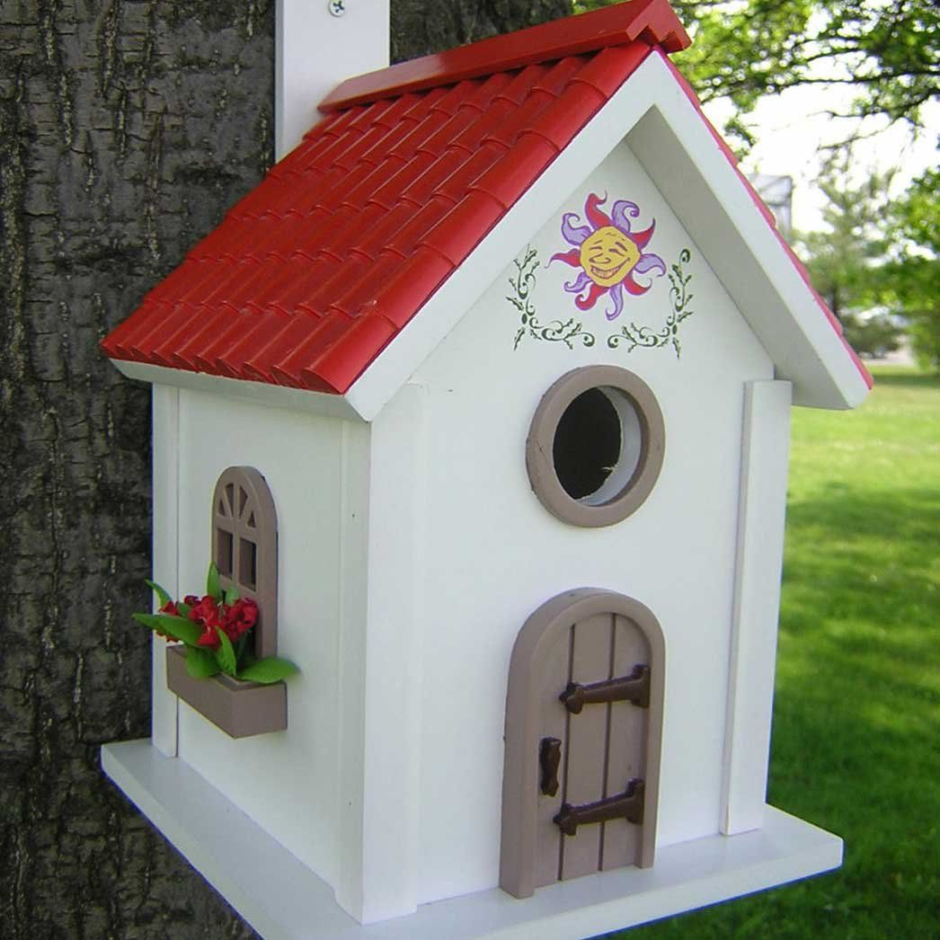 painted bird houses | bird houses, bird and birdhouse