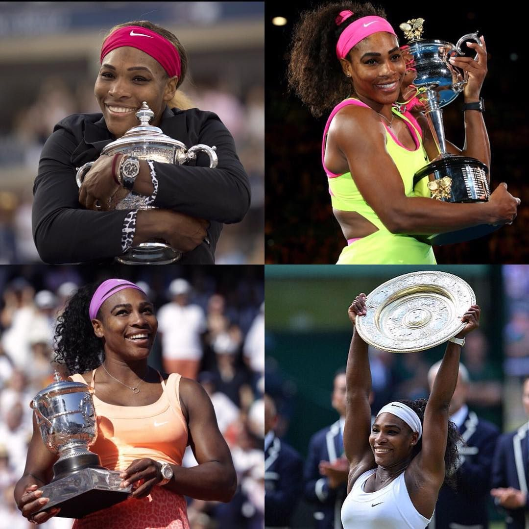 No words can describe the feeling I have right now. #SerenaSlam Wow this happened?? It happened in my dreams and its happening again now! Thanks so much for all the support of my fans, support from #renasarmy my sisters, my parents, @patrickmouratoglou @venuswilliams I love you all so much. We did it... Now you know what I have on my mind now... Let's GOOOOO