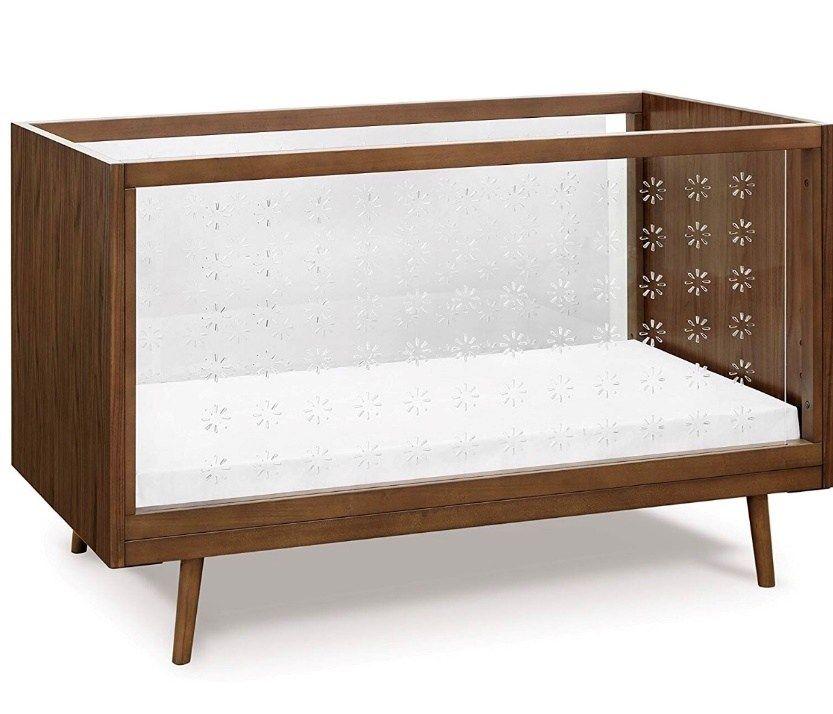 The 10 Best Modern Cribs Compared Modern Crib Walnut Furniture